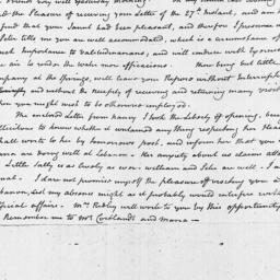 Document, 1796 July 31