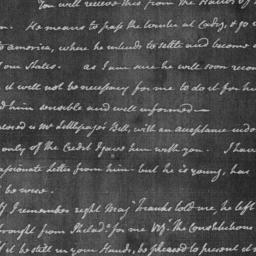 Document, 1781 November 06