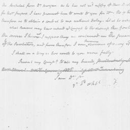 Document, 1777 February 03