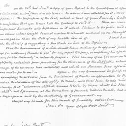 Document, 1822 July 28