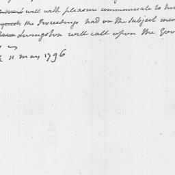 Document, 1796 May 11