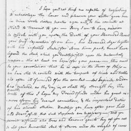 Document, 1782 April 21