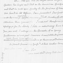 Document, 1779 March 24