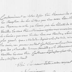Document, 1795 February 01