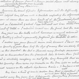 Document, 1782 March 08