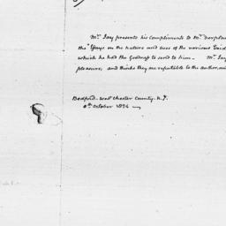 Document, 1824 October 08