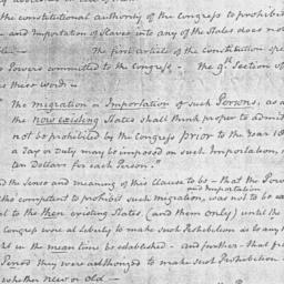 Document, 1819 November 17