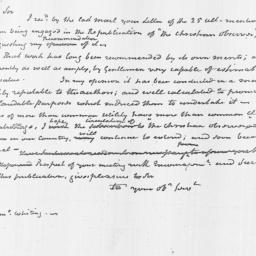 Document, 1818 June 01