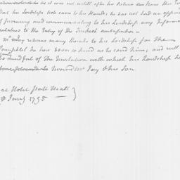 Document, 1795 January 26
