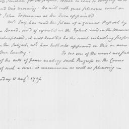 Document, 1794 August 11