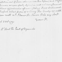 Document, 1791 October 03
