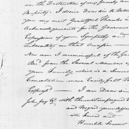 Document, 1819 May 22