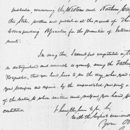 Document, 1818 November 17