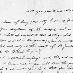 Document, 1809 November 30
