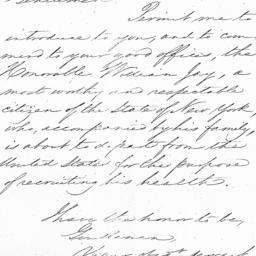 Document, 1843 October 31