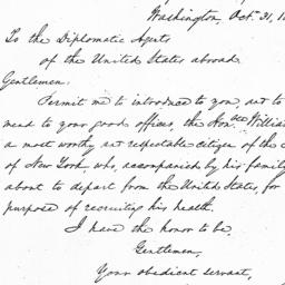 Document, 1843 October 31