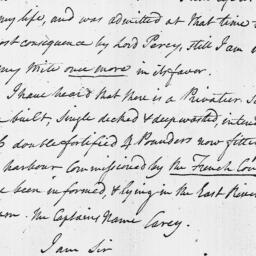 Document, 1796 October 19