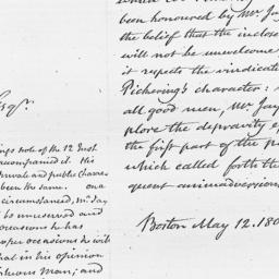 Document, 1808 May 12