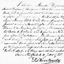 Document, 1785 July 10