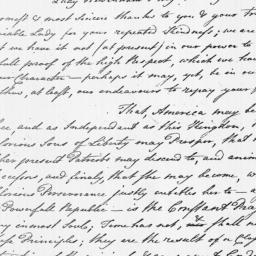 Document, 1782 October 18