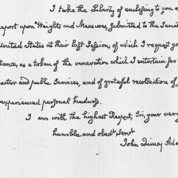 Document, 1821 June 22