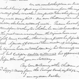 Document, 1822 November 25