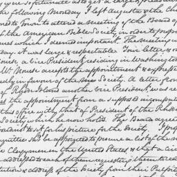 Document, 1816 July 04