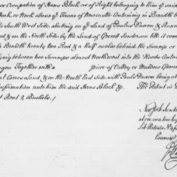 Document, 1668 March 25