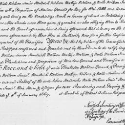 Document, 1667 January 08