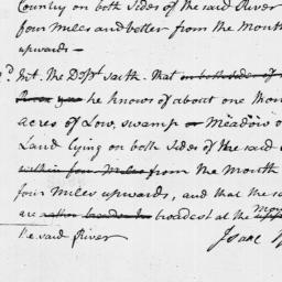 Document, 1769 September 13