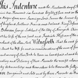 Document, 1685 February 19