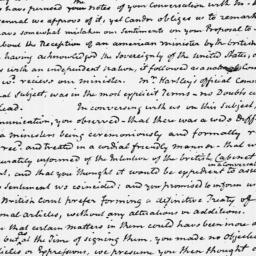 Document, 1783 August 09