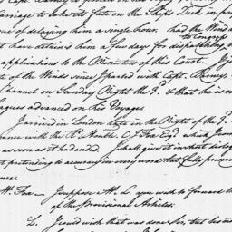 Document, 1783 August 09