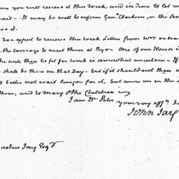 Document, 1823 April 21