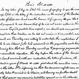 Document, 1785 October 11