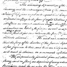 Document, 1779 March 12