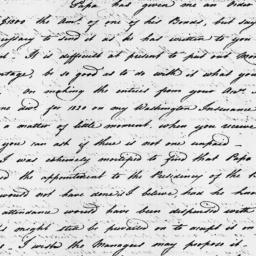 Document, 1821 December 31