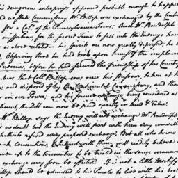 Document, 1779 August 09