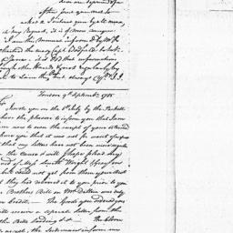Document, 1785 September 09