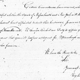 Document, 1785 October 12