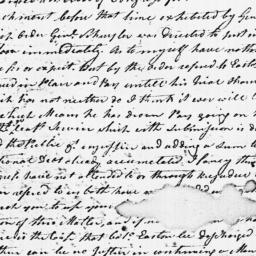 Document, 1779 April 20
