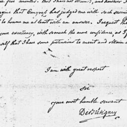 Document, 1779 January 03