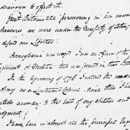 Document, 1779 February 13