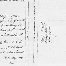Document, 1779 April 18