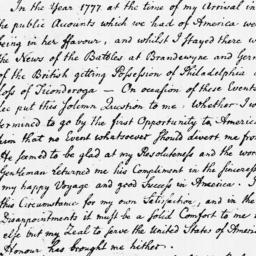 Document, 1779 May 04