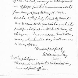 Document, 1851 August 28
