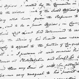 Document, 1779 August 26