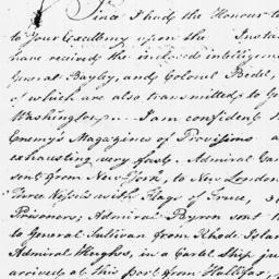 Document, 1779 January 29