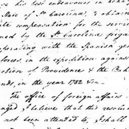 Document, 1786 February 28