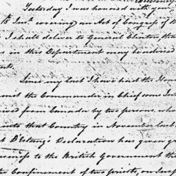 Document, 1779 January 26